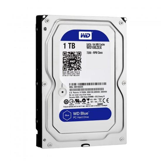 Western Digital Blue 1TB 3.5 Inch SATA 7200RPM Desktop Hard Disk
