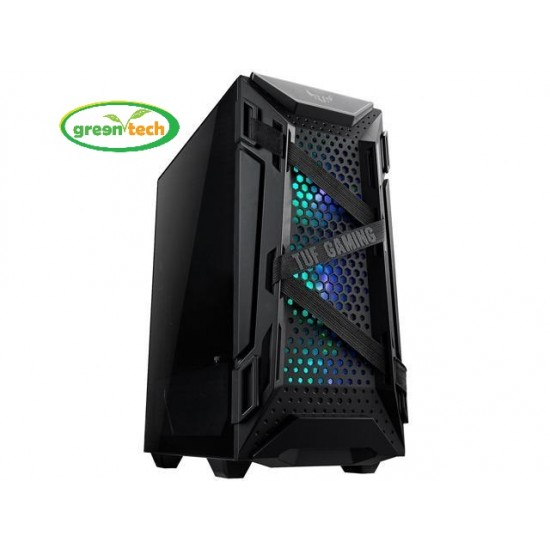 ASUS TUF GAMING GT301 ATX MID-TOWER COMPACT CASE
