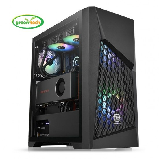 THERMALTAKE COMMANDER G32 TEMPERED GLASS ARGB EDITION MID TOWER GAMING CASE