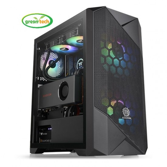 THERMALTAKE COMMANDER G33 TEMPERED GLASS ARGB EDITION MID TOWER GAMING CASE