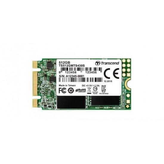 Transcend 430S 512GB M.2 224 SATA SSD