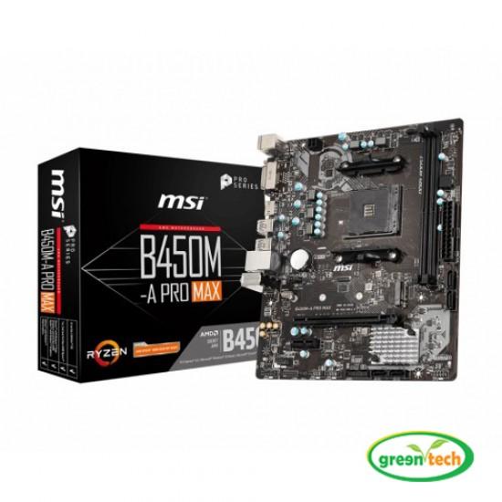 MSI B450M-A Pro Max DDR4 AMD AM4 Socket motherboard