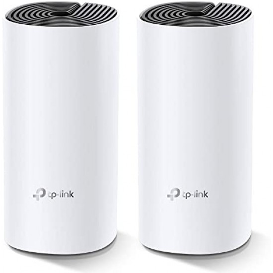 TP-LINK DECO M4 (2 PACK) WHOLE HOME MESH WI-FI SYSTEM AC1200 DUAL-BAND ROUTER