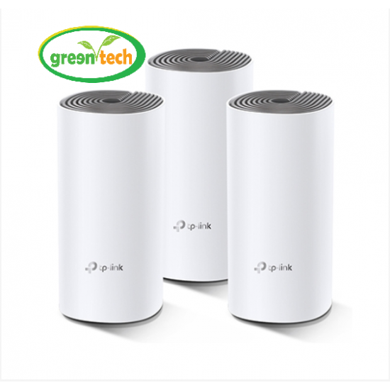 TP-LINK DECO M4 (3 PACK) WHOLE HOME MESH WI-FI SYSTEM AC1200 DUAL-BAND ROUTER