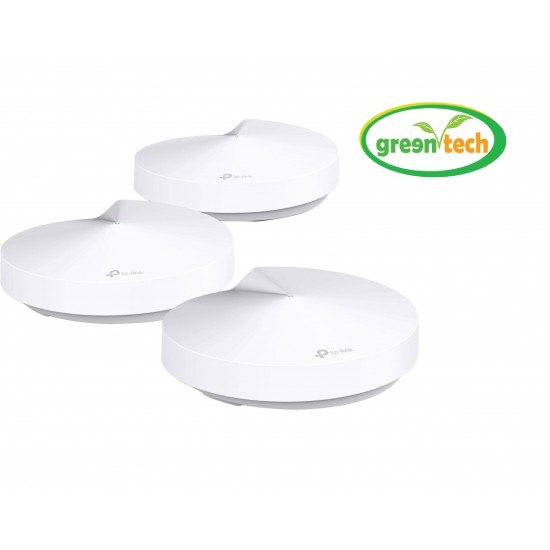 TP-LINK DECO M5 AC1300 SECURE WHOLE-HOME WI-FI ROUTER (3 PACK)
