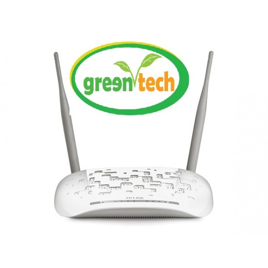 TP-LINK TD-W8961ND 300 MBPS 2 ANTENNA WIFI ROUTER