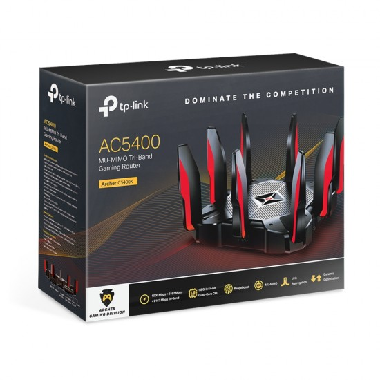 TP-Link Archer C5400X AC5400 MU-MIMO Tri-Band Gaming Router