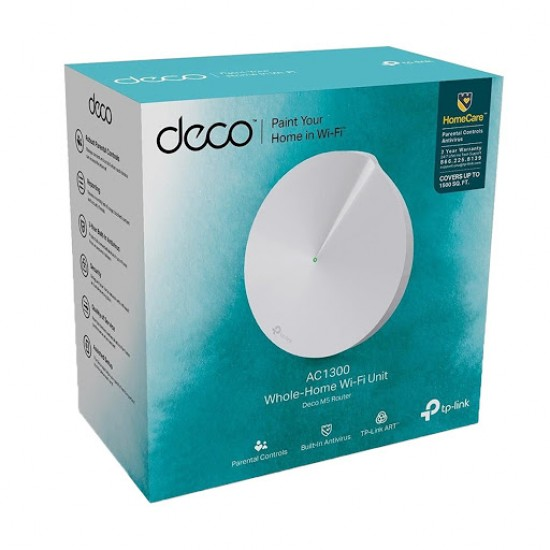 TP-Link Deco M5 AC1300 Whole Home Wi-Fi Router (1-Pack)